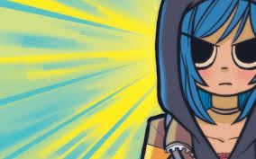 Courtroom illustration of Zoe Quinn (Credit: Scott Pilgrim)